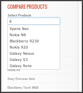Compare Form with autocomplete
